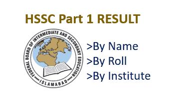 FBISE Result 2020 HsSC 1