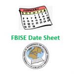 FBISE Date Sheet 2020