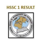 FBISE HSSC 1 Result 2021