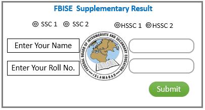 FBISE SSC HSSC Supplementary Result 2020