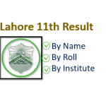 BISE Lahore 11th Class (FA/FSc Part 1) Result 2020