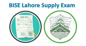 BISE Lahore Supplementary Exam 2021