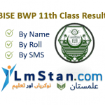 BISE BWP 11th Result 2020