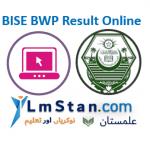BISE BWP Result 2020
