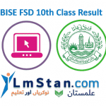 BISE FSD 10th Matric Result 2020