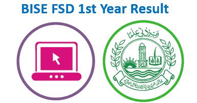 BISE Faisalabad Board 1st Year Result 2020
