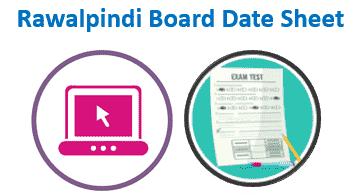 Rawalpindi Board Date Sheet 2020