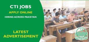 College Teaching Interns CTIs Punjab