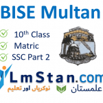 BISE Multan Board Matric Result 2021