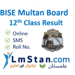 BISE Multan Board 12th Class Result (Intermediate) 2021