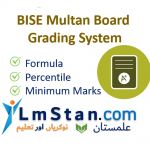 BISE BISE Multan Board Grading System 2021