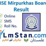 Mirpurkhas Board Result 2021 bisemirpurkhas.com