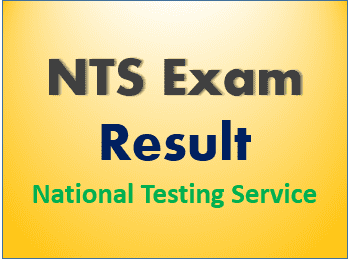 NTS Result 2021 www.nts.org.pk Download Result Card
