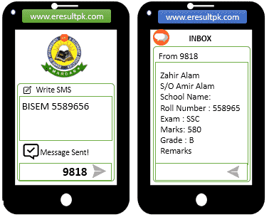 Mardan Board Result 2021 Online Search By SMS